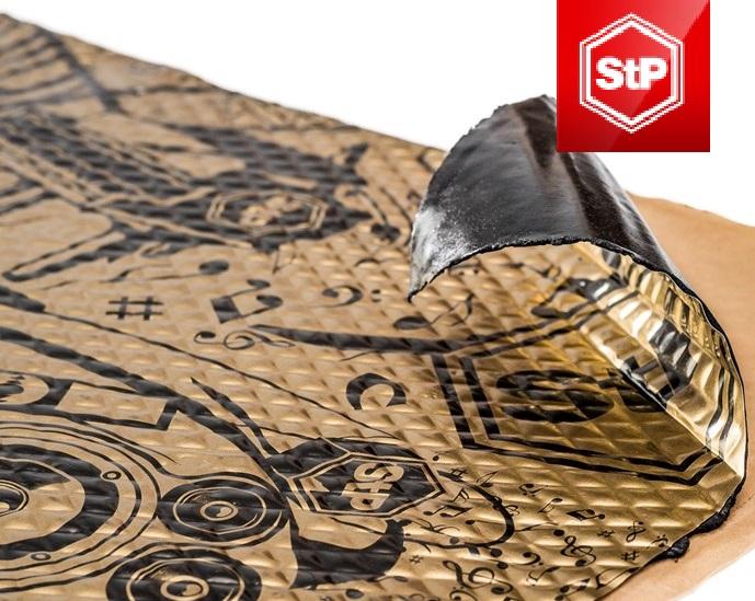 Шумоизоляция. Шумоизоляционные материалы. SGM и STP Стандартпласт.